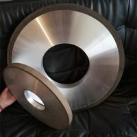 China Resin Diamond Grinding Wheel For Thermal Spraying Alloy Materials lucy.wu@moresuperhard.com on sale