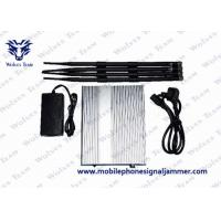China Mobile Phone Wifi Signal Jammer HS Code 8543709200 Total Output 10 Watt on sale