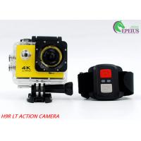 China Mini 900mAh USB2.0  4k Sports Action Camera 2.0 Inch For 30M Underwater wholesale
