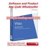 China Best Activate Microsoft Office 2013 Product Key Codes , Office Visio Standard 2013 FPP Product Key wholesale