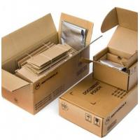 Brown Plain Custom Corrugated Packaging Boxes With Glossy / Matt Lamination