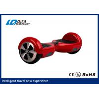 China Red Two Wheel Hoverboard Self Balancing Smart Scooter No Need To Learn wholesale