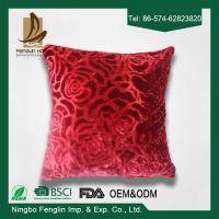 China Red Color Festival 45x45 Bedroom Decorative Pillow Covers For Household wholesale