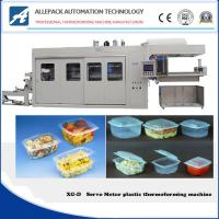 China Full Servo Motor Disposable Plastic Cup Tray Thermoforming Machine on sale