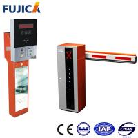 Road Safety Automatic Boom Barrier Gate With Aluminum Aloy Rail