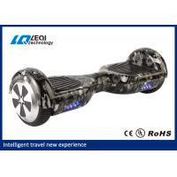 China 6.5 Inch 2 Wheel Smart Balance Hoverboard 30 Degree Climbing Gradient wholesale