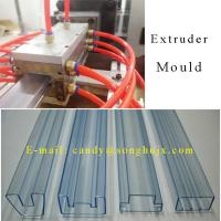 China High quality transparent IC packaging pipe extrusion line on sale