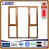 China aluminum cladding window aluminium composite windows aluminium wooden windows wholesale