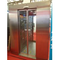 China Automatic Sliding Door Stainless Steel Personnel Air Shower For Electronics / Medical / Food wholesale