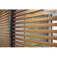 China Interior / Exterior Ceramic Wall Cladding , Decorative Terracotta Baguette Louver wholesale
