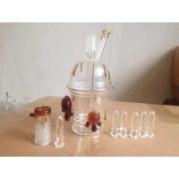 China Honey glass rig glass bongs glass water pipe for smoking wholesale