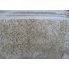 China Tiger Skin Gold Yellow  Granite Countertop Tiles , Granite Kitchen Tiles Polished wholesale