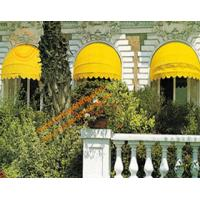 Buy cheap Ourtdoor Aluminum Manual Retractable Door Entrance Window Dome Awning from wholesalers