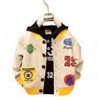 China Children's Woven Jackets, 100% Cotton wholesale