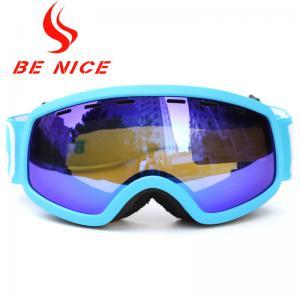 China Popular Winter Outdoor Children'S Ski Goggles , Blue Photochromic Ski Goggles wholesale
