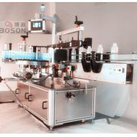 China Front Side Square Bottle Labeling Machine / Equipment with Re - orientation wholesale