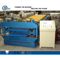 China High Speed Color Metal Roof Double Layer Roll Forming Machine For Stadium wholesale