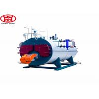 China three pass fire tube wet back Automatic Wns Fire Tube Diesel Oil Natural Gas Steam Boiler for Laundry on sale
