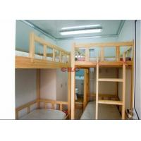 China Three Layers Prefabricated Accommodation Comfortable And Safety With Bunk Beds wholesale
