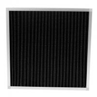 China Pleated Pre Activated Carbon Air Filter Large Air Flow For Odor Removal on sale