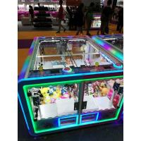China Vertical Candy Crane Machine For 4 Players , Colorful Appearance Claw Grabber Machiner wholesale