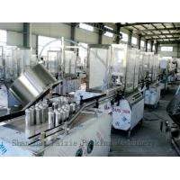 China Full Auto Insect Spray Filling Machine Bottle Cap Sealing Machine with PLC Control wholesale