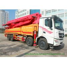 China Beiben V3 35m -51m Mini Concrete Pump Truck , Truck Mounted Concrete Pump wholesale