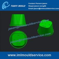 China thin wall plastic cups molded,PP thin wall plastic cups molded design, iml cup mold on sale