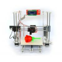China Reprap Prusa I3 Clear Frame Full 3d Printer Kit with LCD Screen Gt2 Mk8 wholesale