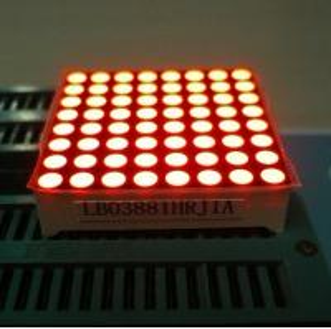 China Electronic Video 8X8 Led Dot Matrix led Message Board IC Compatible wholesale