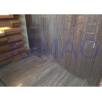 China Aluminum Alloy Hanging Chain Room DividersEasy Installed For Dubai Hotel / Spa wholesale