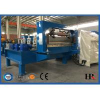 China Metal Window / Door Frame Cold Roll Forming Machine With Hydraulic Cutting wholesale