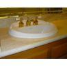China VanityTops -Crema Marfil Marble Vanity Tops For Bathroom Decoration wholesale