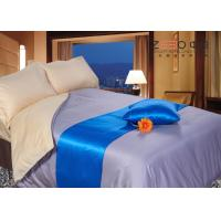 Hotel Collection Bedding Set Grey Color 300TC Silky Material  Linen