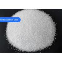 China Trigonal Aluminium Oxide Blasting Media Al2O3 99.3% Purity Surface Cleaning wholesale