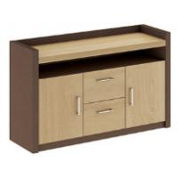 China modern office credenza cabinet/side tea cabinet furniture wholesale