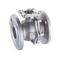 China SS304 / SS316 Floating Flanged Stainless Steel Ball Valve 1/2 - 8 Inch Mounting Pad on sale