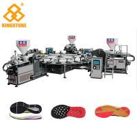 China Four Color TPR Sole Sneaker Making Machine With 20 Stations Four Injectors wholesale