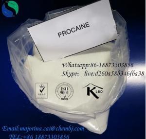 China Procaine Anti - Pain Local Anesthetic Drugs Procaine Hcl/Procaine  59-46-1 on sale