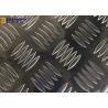 China Decorative 6061 Aluminum Plate , Big 5 Bar Aluminum Diamond Plate wholesale
