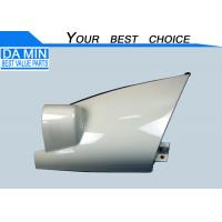 China 8975821533 ISUZU Body Parts Right Side Corner Panel White Bright Paint Slide Side And Rubber Clip wholesale
