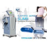 4 Cryo Handle Cryolipolysis Machine Cellulite Reduction / Cryo Fat Freeze Machine