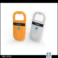 China 128 Records Memory Handheld RFID Reader Mini Microchips Reader For Pets wholesale
