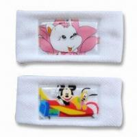 China Sweatband with Hot Stamping Printing, OEM Orders are Welcome, Made of Polyester wholesale
