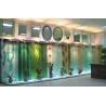 China Wall-mounted decorative slumped glass panel wholesale