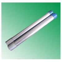 hot dipped galvanized steel pipe threading with socket made in China market factory mill