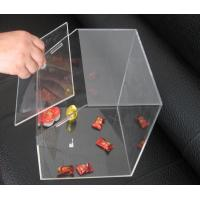 China Transparent 3mm Acrylic Display Case , Candy Plexiglass Cases Custom on sale