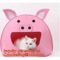 China soft felt pet house, Pet Beds & Accessories, Felt pet house, Felt cats pet bed, felt pet house for dog or cats wholesale