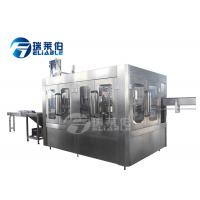 China Monoblock 3 In 1 Drinking Water Bottle Filling Machine Stainless Steel 304 Or 316 wholesale