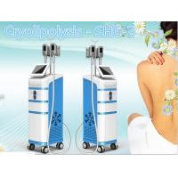 China SHC-2 cryo shaping freezing fat weight loss belly fat removal machine on sale